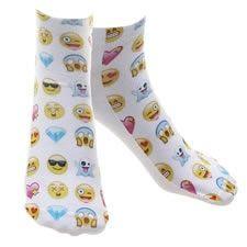 calcetines de emojis