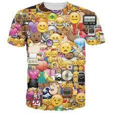 camisetas de emojis