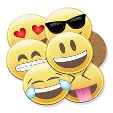 posavasos de emojis