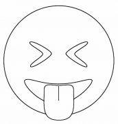 dibujos de emojis para colorear fáciles