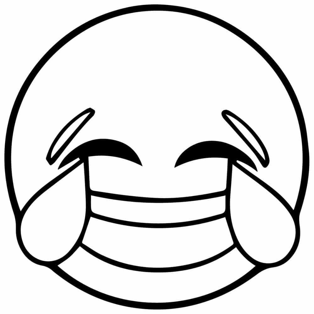 Dibujos Para Colorear Emojis