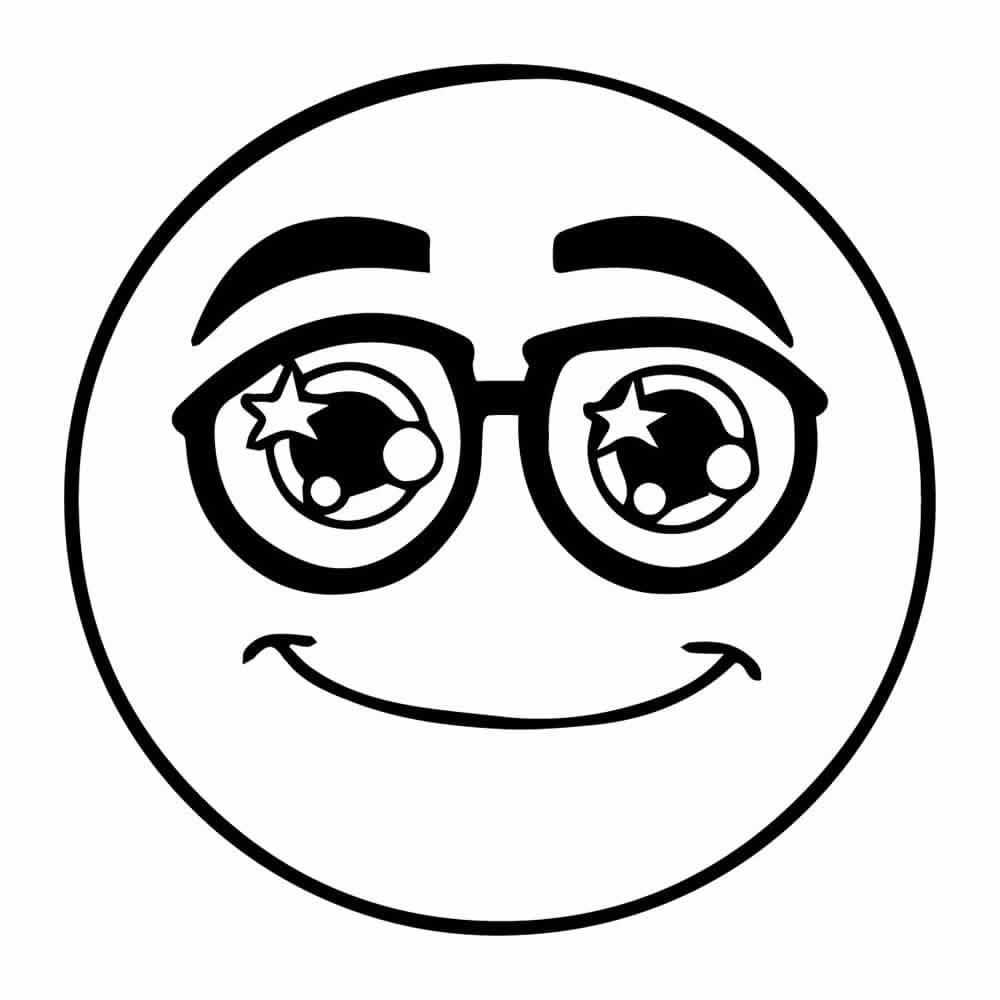 Dibujos De Emojis Para Colorear on Dibujos Faciles