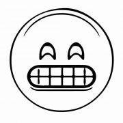 emoticones tristes para colorear e imprimir