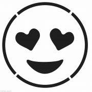 imagenes de emojis para colorear en blanco y negro