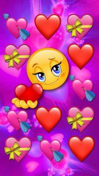 fondos de pantalla de emojis bonitos