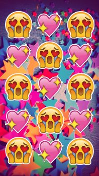 fondos de pantalla de emojis de amor