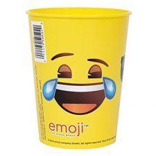 vasos de emojis